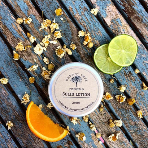 Citrus Solid Lotion Bar