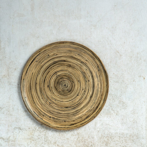 Fairtrade bamboo plate