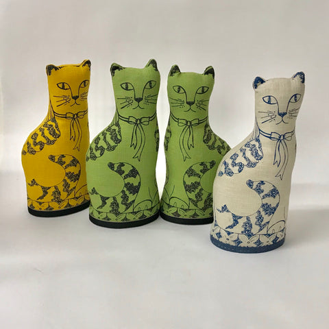 Linen Lavender filled Cats