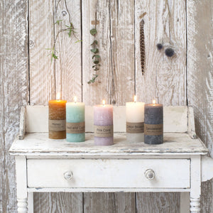 Tall Scented Pillar Candles