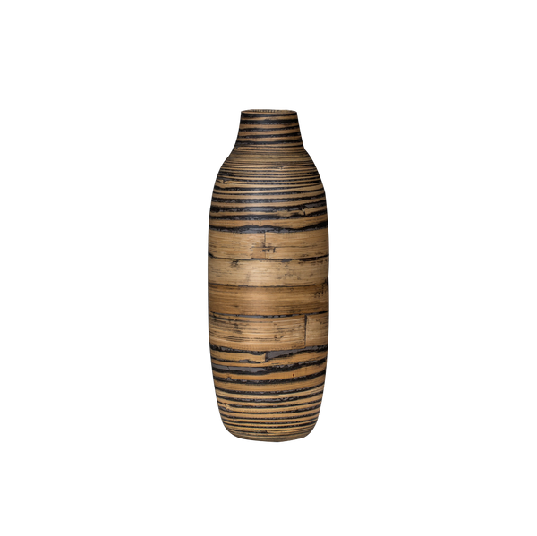 Large 'Myung' Fairtrade bamboo vase