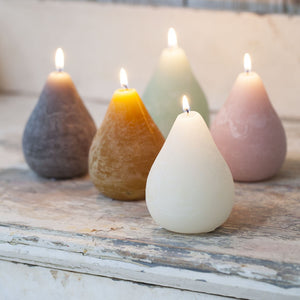Scented Pear Candles