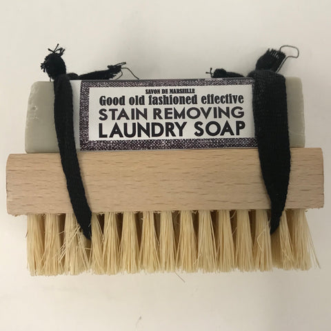 Stain Removing Soap and Brush