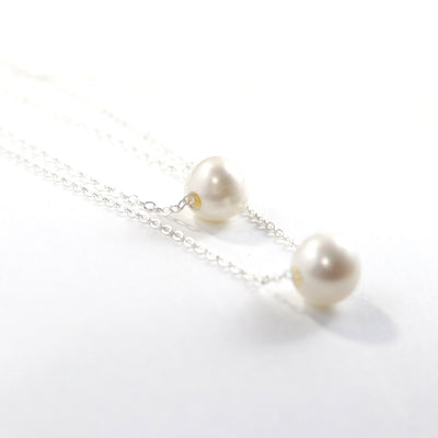 Fresh Water Pearl Necklace-Womens-LittleGreenRoomJewelry-LittleGreenRoomJewelry