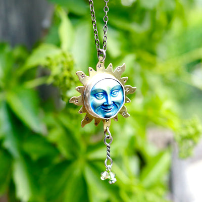 Amys California Sun Artisan Necklace-Womens-LittleGreenRoomJewelry-LittleGreenRoomJewelry