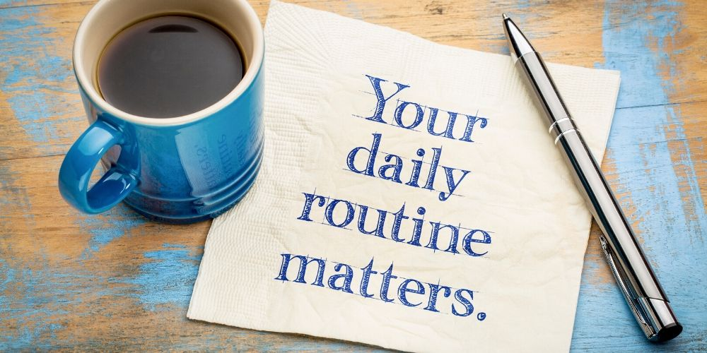 MYnd Map Blog - Powerful Healthy Daily Routine - Examples and Benefits Of Having A One