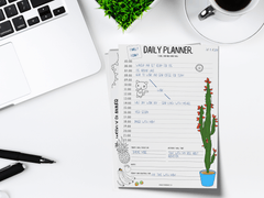 MYnd Map Daily Planner FREE Printable PDF