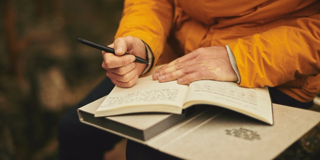 The healing power of keeping a journal