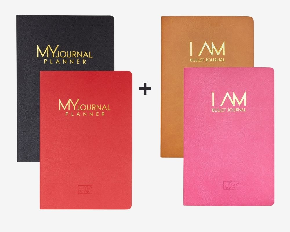 MY Journal Planner & I AM Bullet Journal Bundle