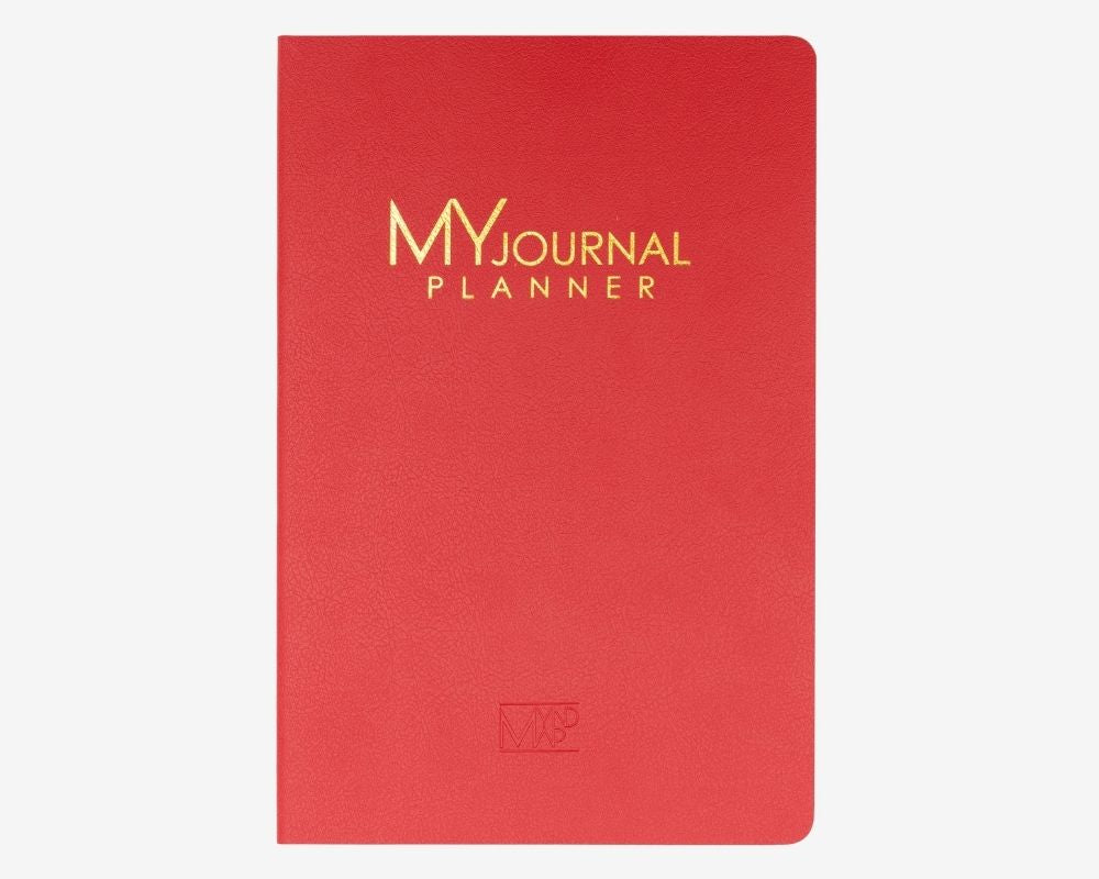 MY Journal Planner - Red