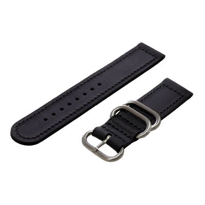 black-oiled-leather-2-piece-zulu-watchband