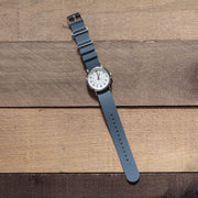 gray-silicone-rubber-nato-watchband-on-watch