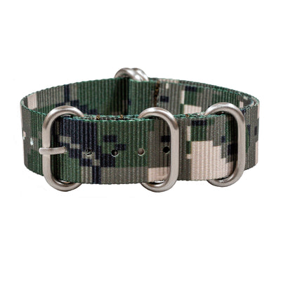Ballistic Nylon Zulu | Green Digital Camo