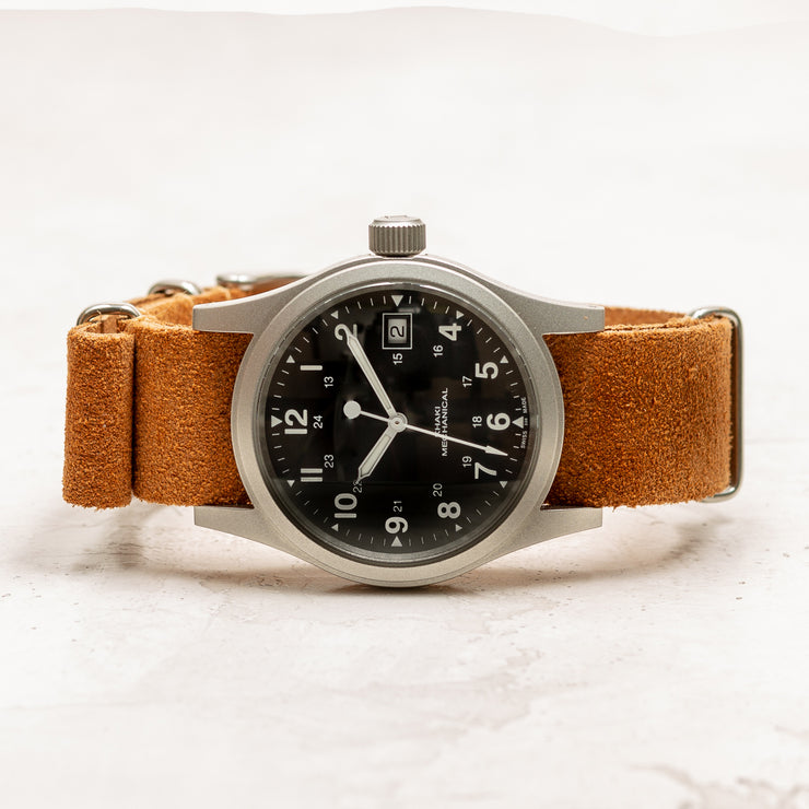 Suede NATO <br>Light Brown