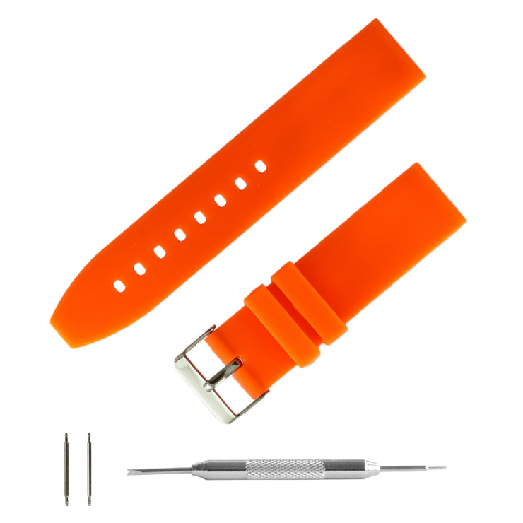 orange-silicone-rubber-watchband