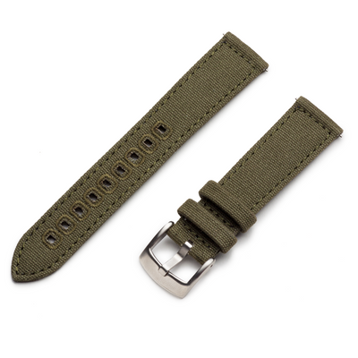 Canvas Quick Release | Army Green