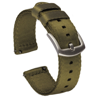 Seat Belt Nylon Quick Release | Army Green