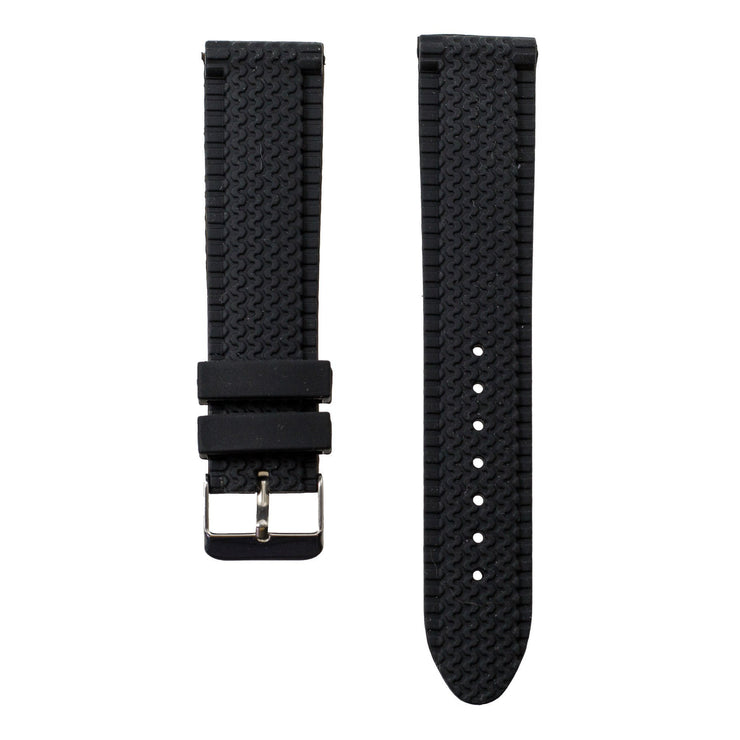 black-tire-tread-silicone-rubber-watchband