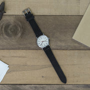 black-suede-watchband-on-watch