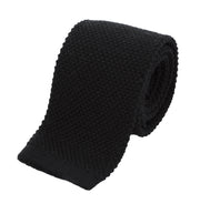 wool-knit-tie-black