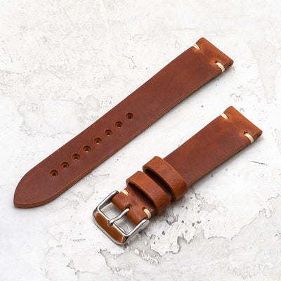 Minimalist Quick Release | Horween Dublin - English Tan