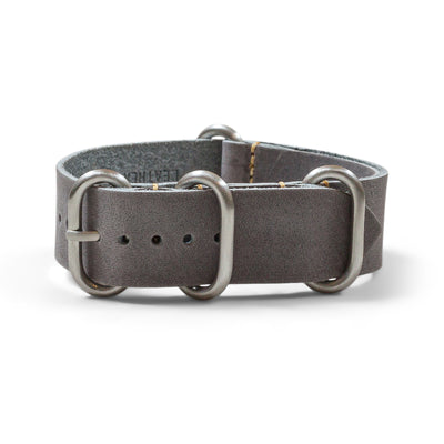Oiled Leather Zulu | Slate Grey