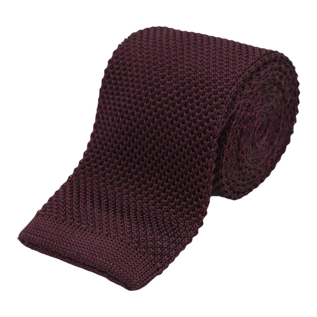 silk-knit-tie-wine