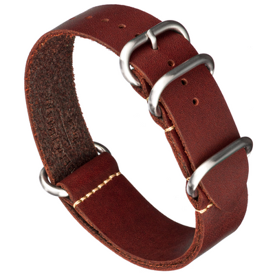 Oiled Leather Zulu | Oxblood