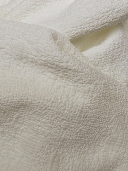 coverlet affina sea foam natural