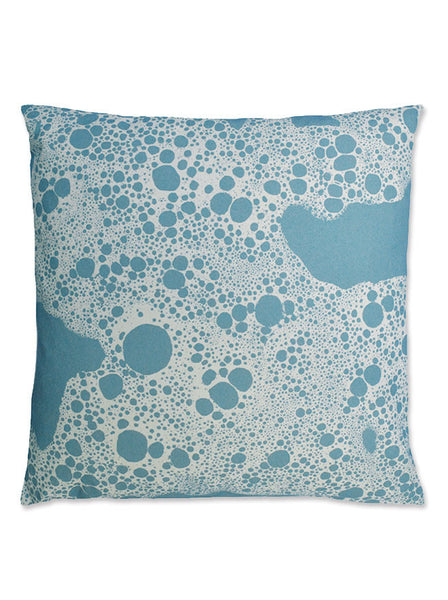Sea Foam Throw Pillow Cover