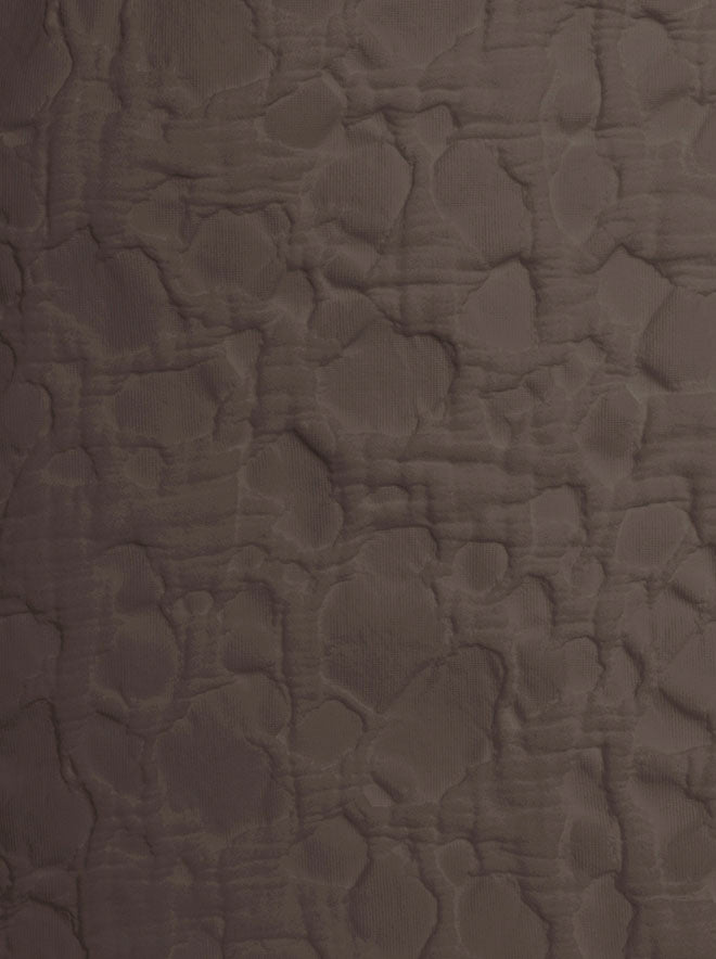 affina striatus brown coverlet