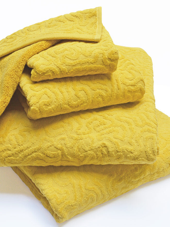 Strigosa Towels Yellow