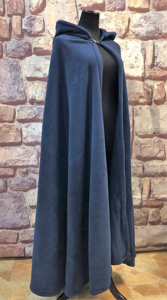 Long Cozy Fleece Cloak