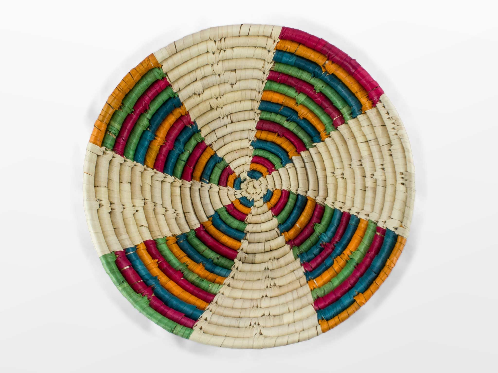 Piece + Parcel - Arcoiris Fair Trade Basket -