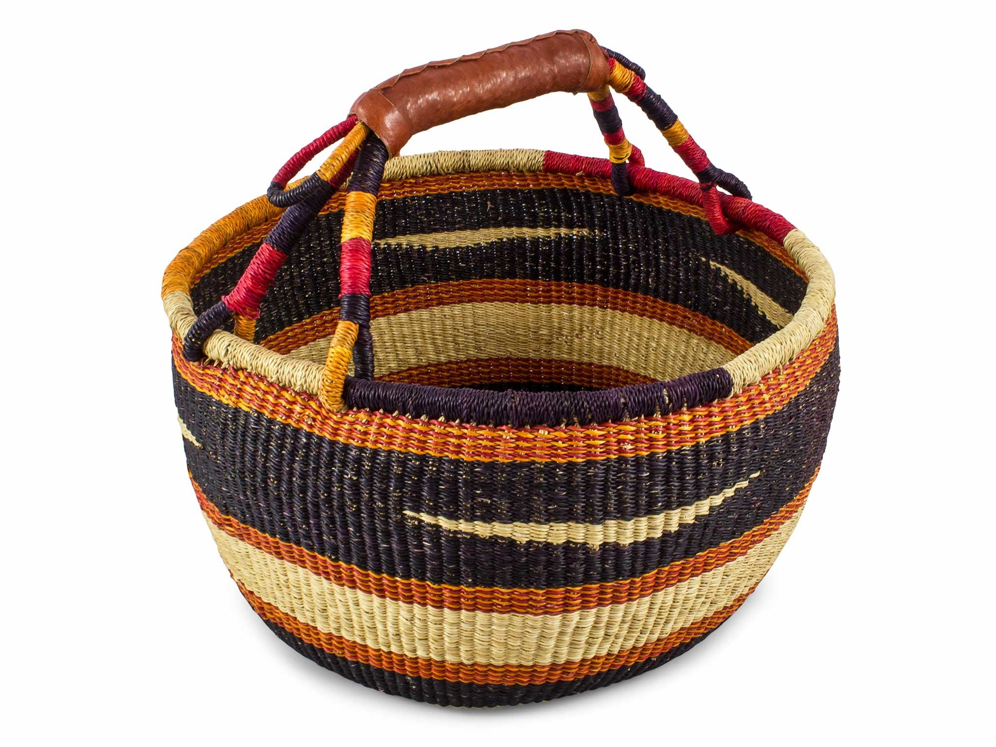Piece + Parcel - Bolga Fair Trade Basket -