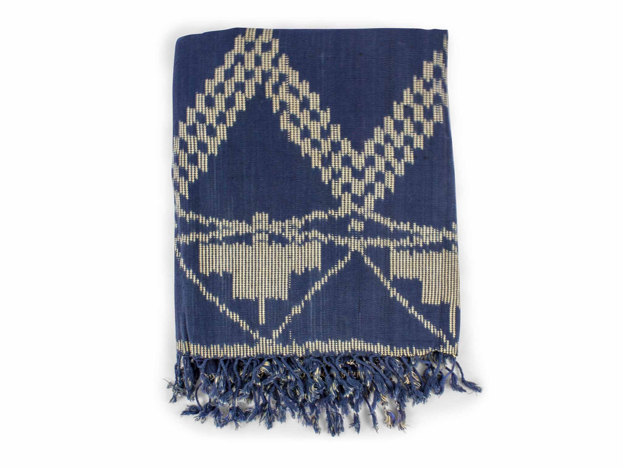 Piece + Parcel - Indigo Fair Trade Throw -
