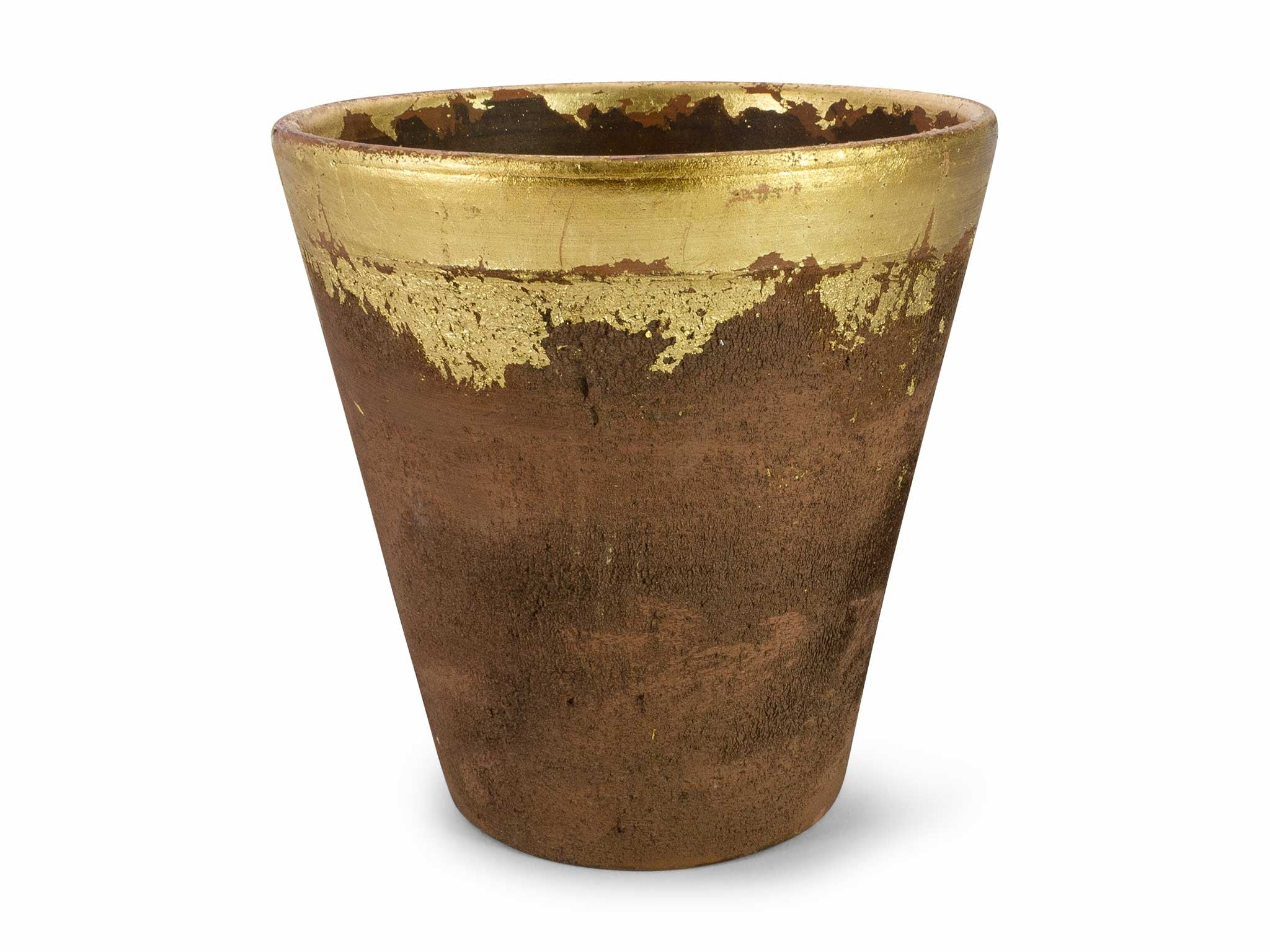 Lagos Gold Pot. Buy Modern Pots For Plants   Affordable Decorative Planters Online