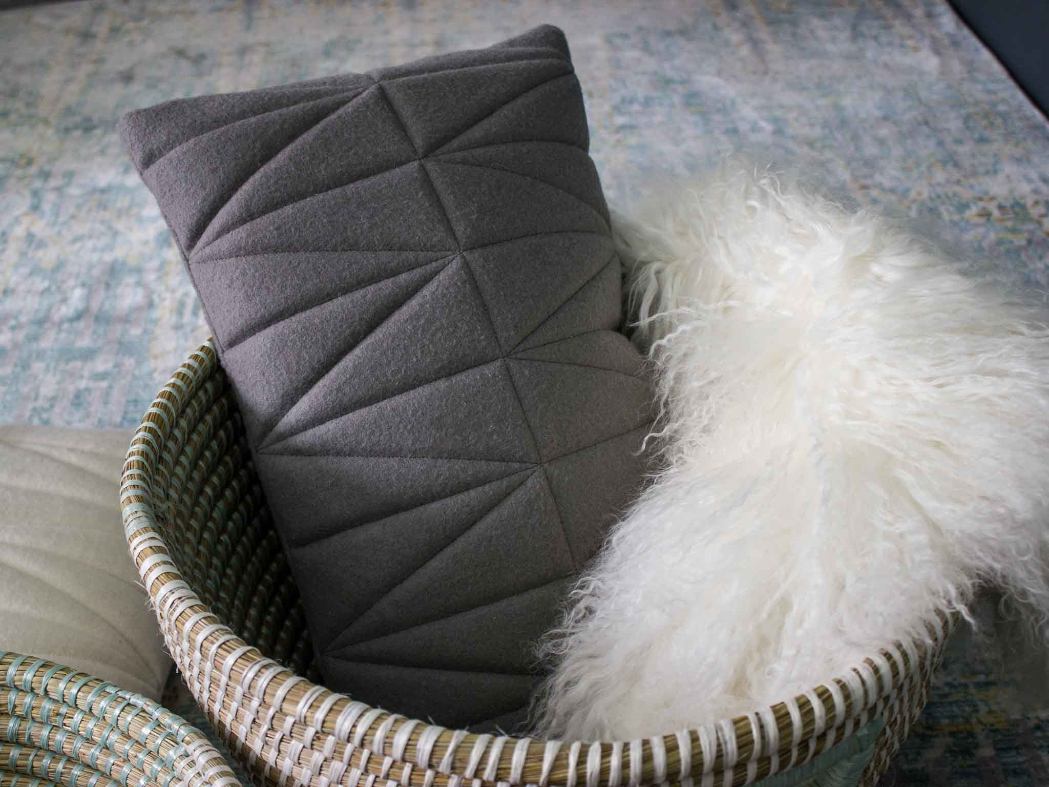 Piece + Parcel - Norda Gray Pillow -