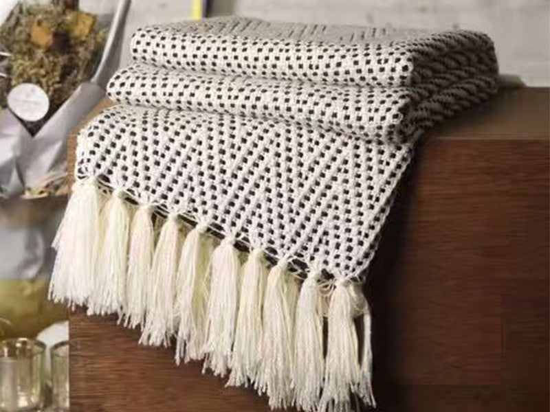 Boho Throw Blankets Best Dotted Boho Throw Blanket Piece Parcel