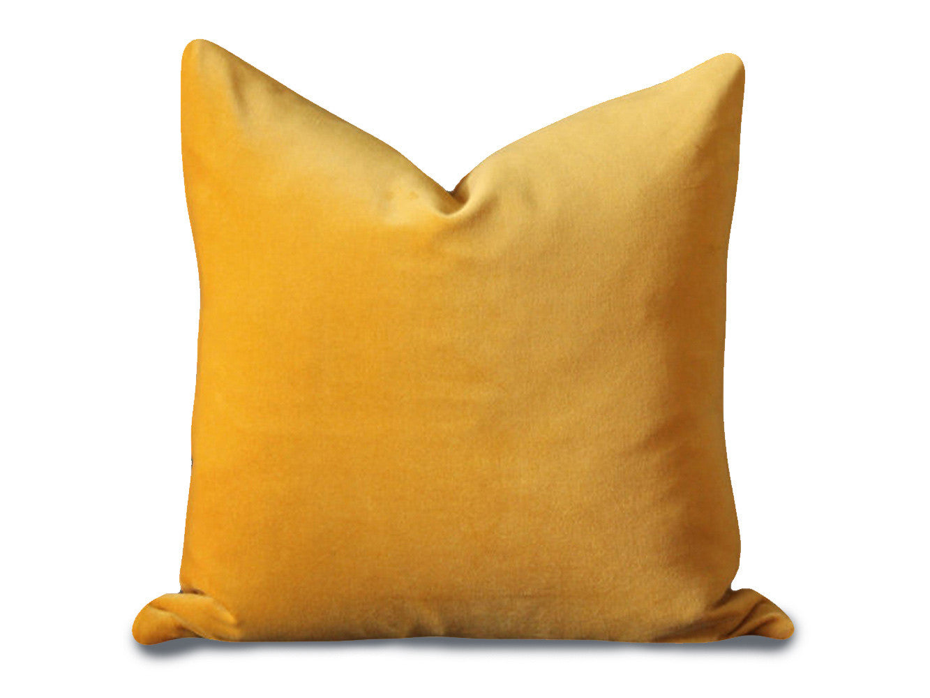 Piece + Parcel - Classica Yellow Velvet Pillow -
