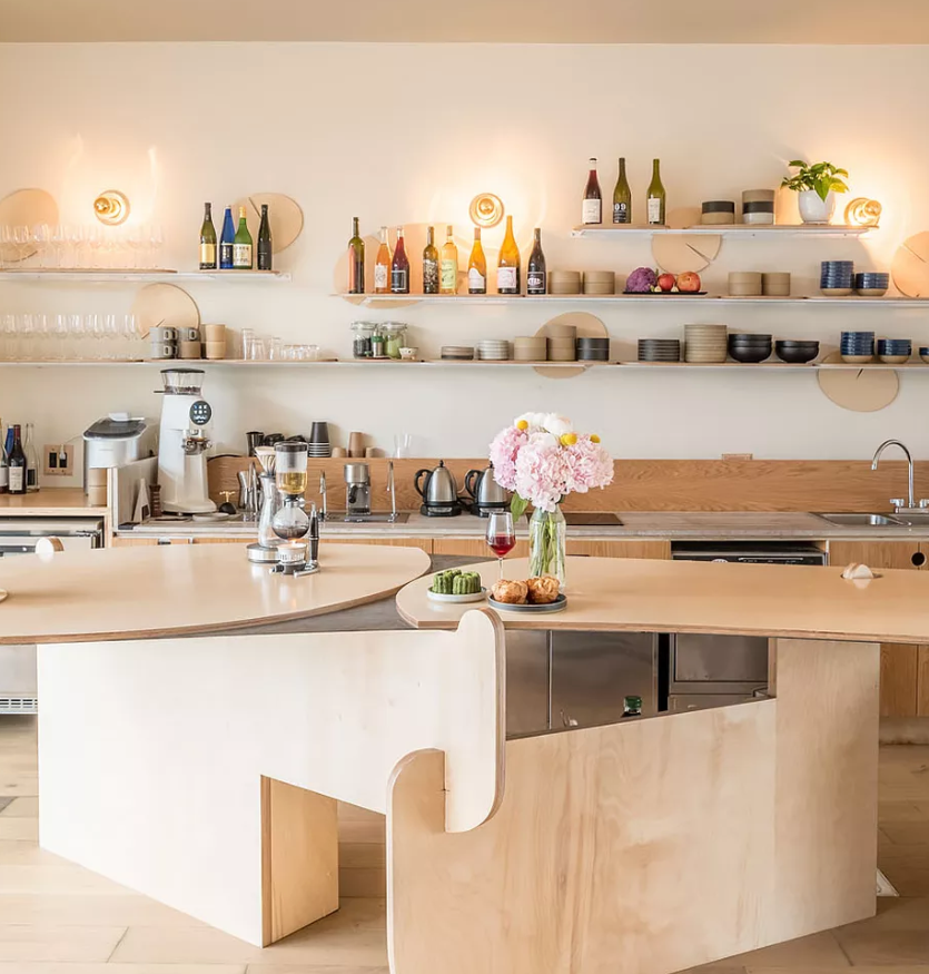 Hollywood's New Hilltop Cafe Is a Glorious Exercise in Japanese Minimalism