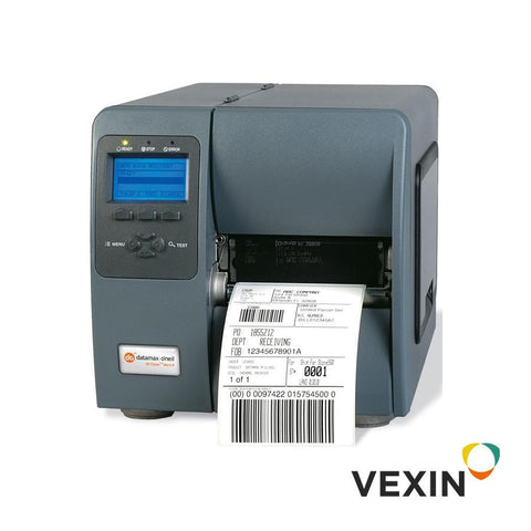 No. Parte. KD2-00-40000Y00. Impresora de códigos de barras Marca Honeywell. Modelo. M-Class II Direct Thermal & Thermal Transfer Printer. M-4206 -4in-203 DPI,6 IPS,Impresora con pantalla gráfica,Datamax Kit,bi direccional TT,3.0in Media Hub