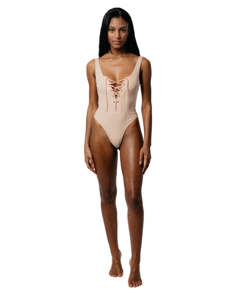 Alli Lace Up One Piece