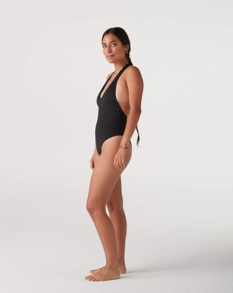 Load image into Gallery viewer, Holly T Back Halter One Piece