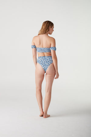 Britt High Waisted Ruffle Bottom