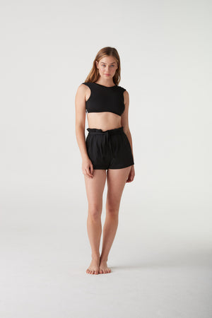 Marquita High Waist Swim Short