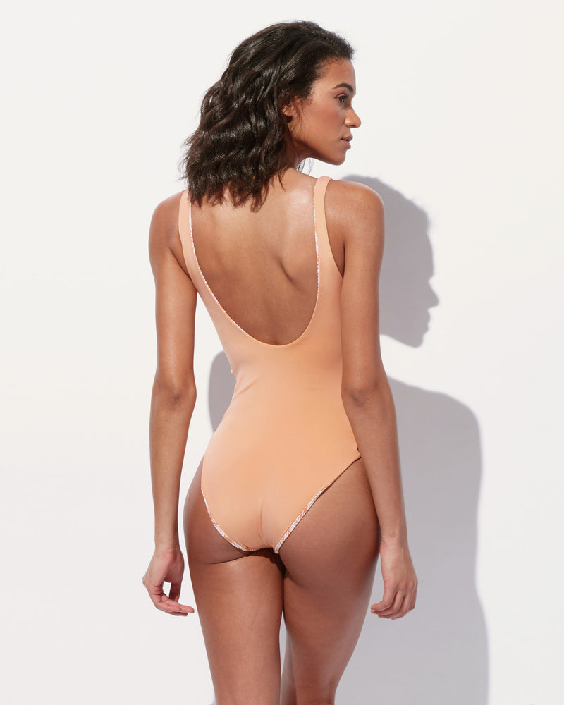 Load image into Gallery viewer, Annie Scoop Neck One Piece
