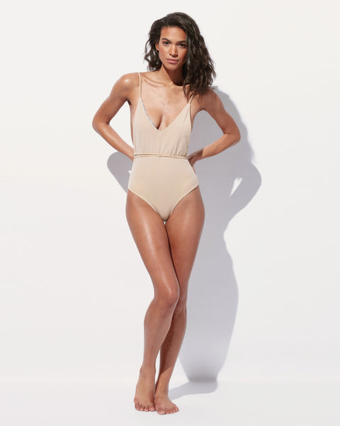 Olivia Belted One Piece