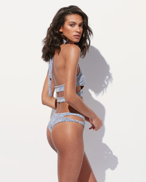 Ricah Cut Out Cheeky Bikini Bottom