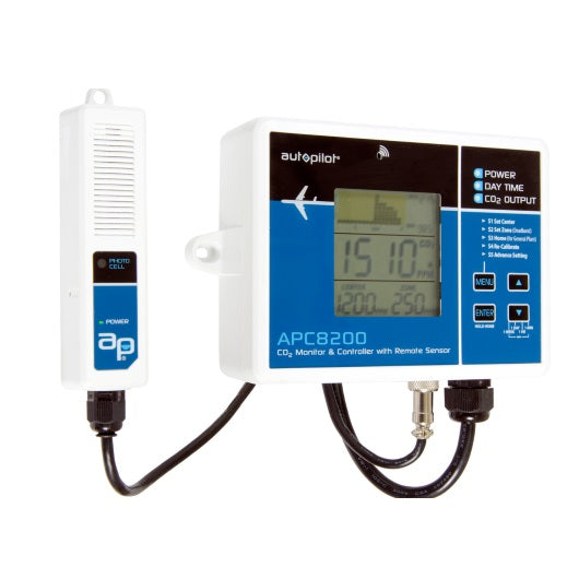 Autopilot CO2 Monitor & Controller with Memory (APC8200)